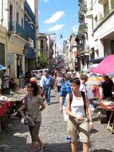 San Telmo Sunday Market