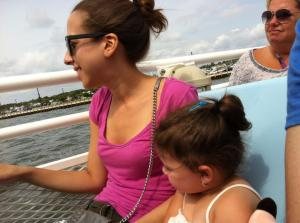 Lilly and I on the ferry last summer. Hands down the best day of summer 2012.