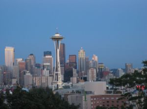Seattle skyline: View from Kerry Park