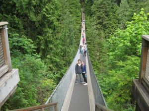 Capilano: Suspension bridge
