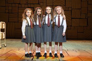 The four Matildas. (Milly is far right.)